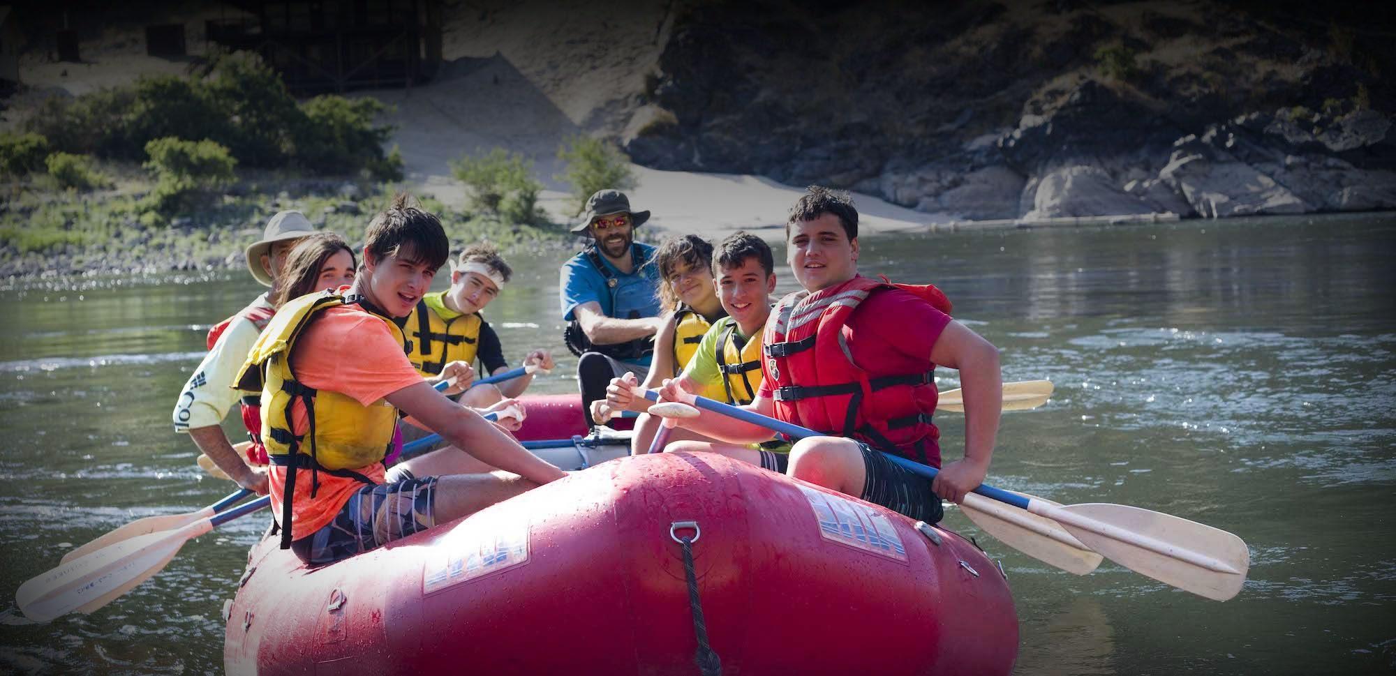 Northwest Rafting Trip
